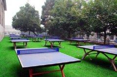 郑州高铁地铁学校乒乓球场