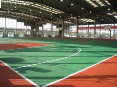 郑州高铁地铁学校篮球场